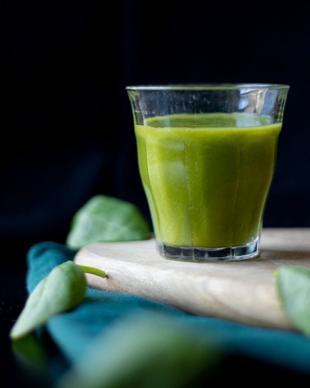 Food Photography Green Smoothie